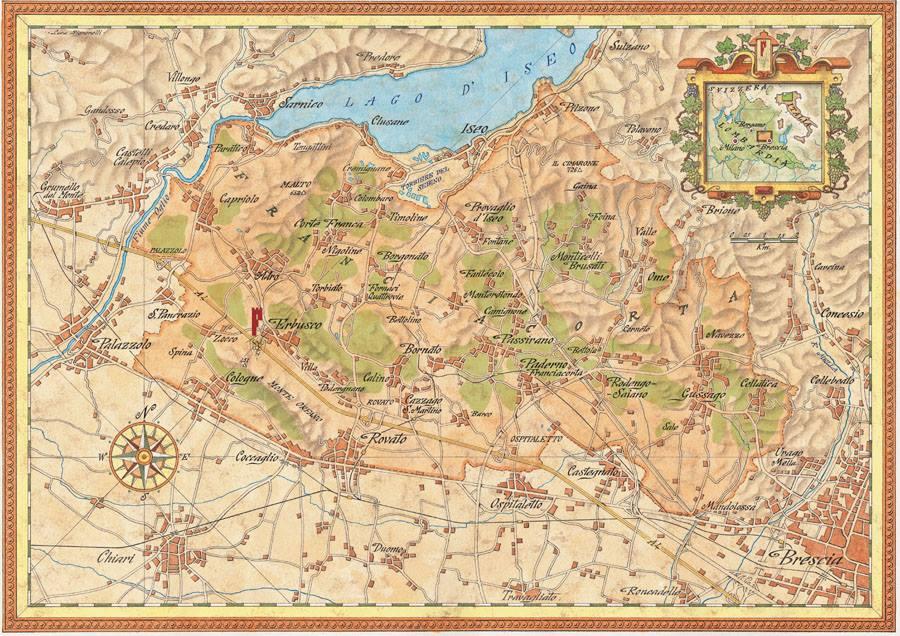 Franciacorta: origine, storia e peculiarità della più importante zona spumantisticaitaliana